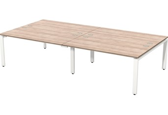 Geo Bench Desk 4 - 2400mm Birch