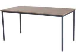 Retro Large Steel Frame Table