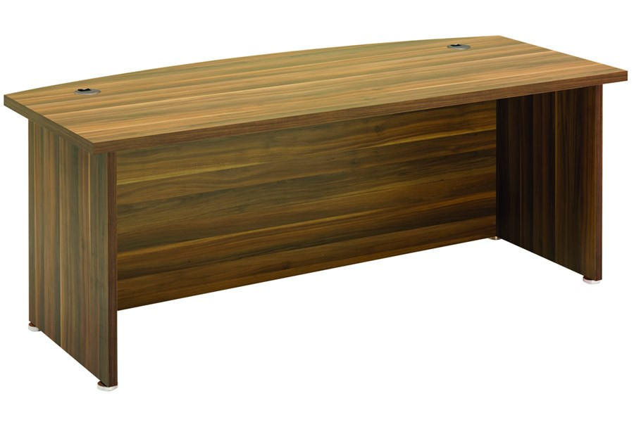 Regent Bow Fronted Office Desk