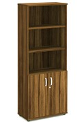 Nova Walnut Open Shelf Cupboard