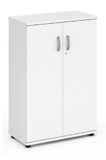 Polar White Tall Office Cupboard