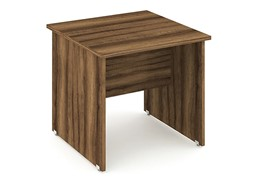 Nova Walnut  Return Panel Desk