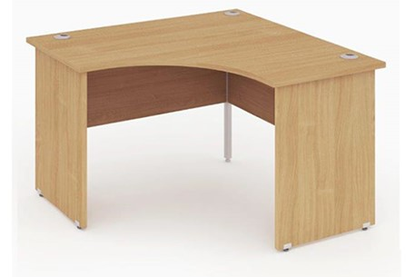 Price Point Beech Call Centre Panel Leg Desk