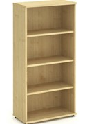 Solar Maple  1600mm Office Bookcase