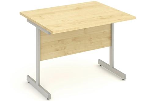 Solar Maple Small Cantilever Desk