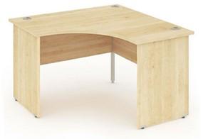 Solar Maple Corner Panel Leg Desk