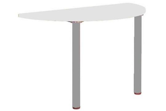 Avon White  Arc Meeting Point Table