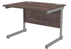 Harmony Walnut Rectangular Cantilever Desk