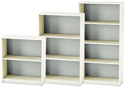 Avon White Office Bookcase