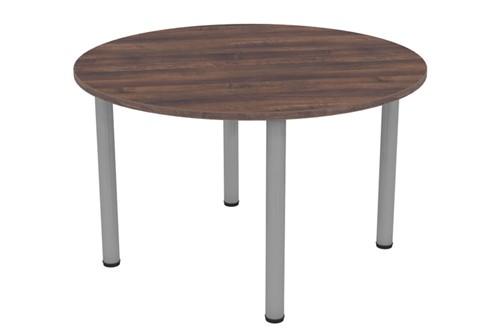 Harmony Walnut Round Meeting Table