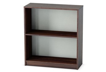 Harmony Walnut Office Bookcase - 871mm