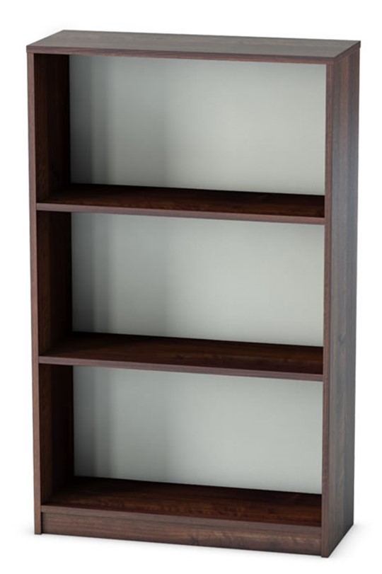 Harmony Walnut Office Bookcase