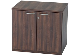 Harmony Walnut Desk High Cupboard