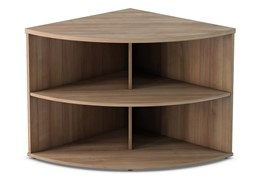Thames Desk High Radial Bookcase