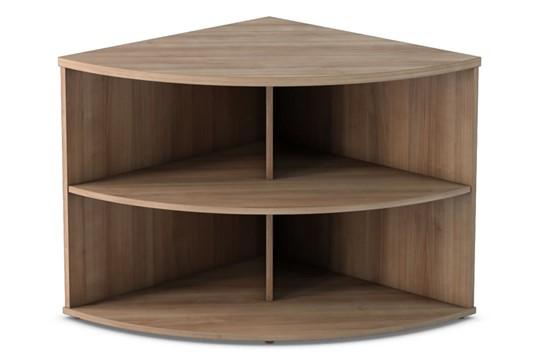 Thames Desk High Radial Bookcase