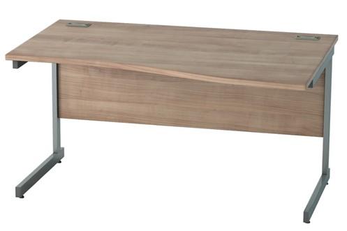 Thames Wave Cantilever Desk
