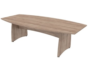Thames Barrel Boardroom Table - 1800mm Birch