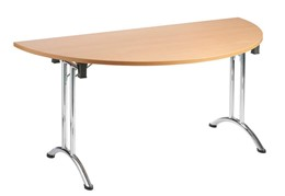 Thames Folding Semi Circular Table