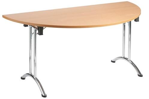 Folding Semi Circular Table