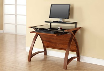 Curve Computer Desk - 900mm Oak