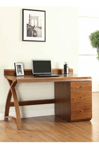 Curve Desk High Pedestal