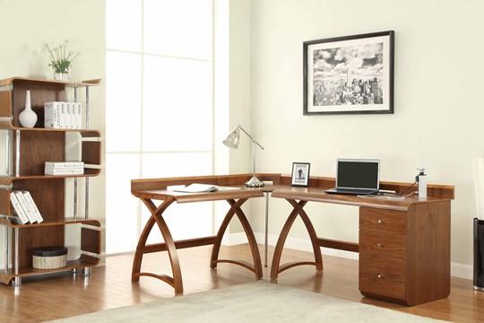 Curve 3 Drawer Pedestal Desk
