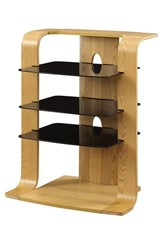 Curve Entertainment Unit - Oak