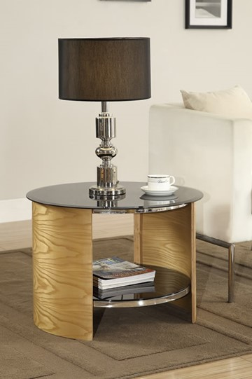Curve Round Lamp Table