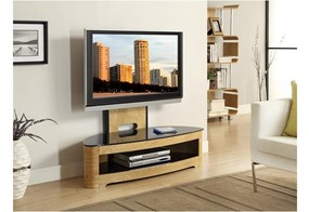Curve Cantilever TV Stand