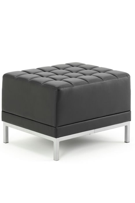 Infinity Cube Chair  sc 1 st  ChairOffice & Infinity Modular Cube Chair - Black Leather - Breakout Seating