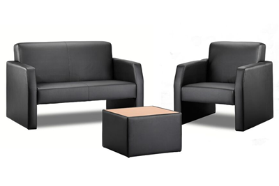 Oracle Black Single Chair