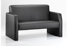 Oracle Black Twin Sofa