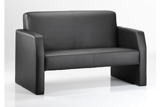 Oracle Black Twin Sofa