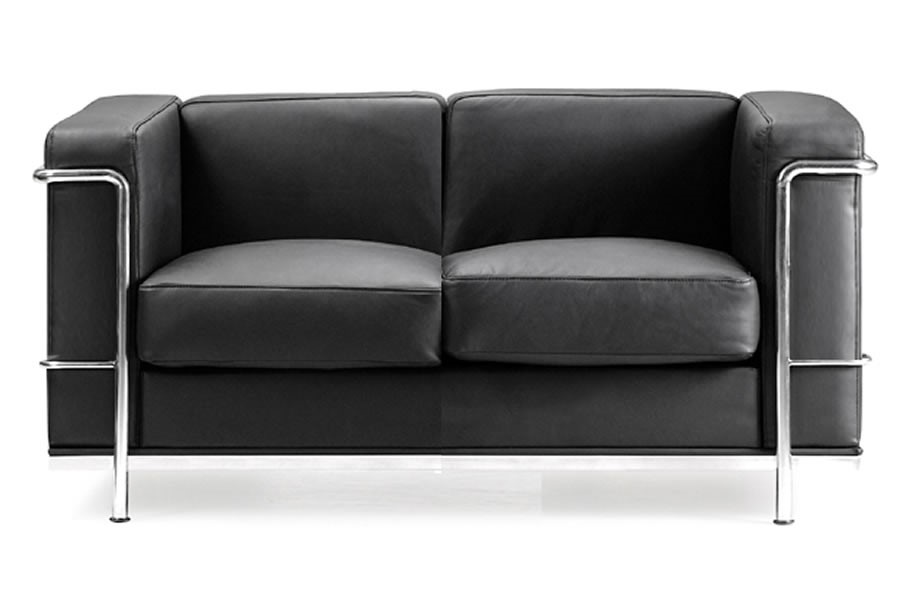 Retro Cube Reception 2 Seat Sofa