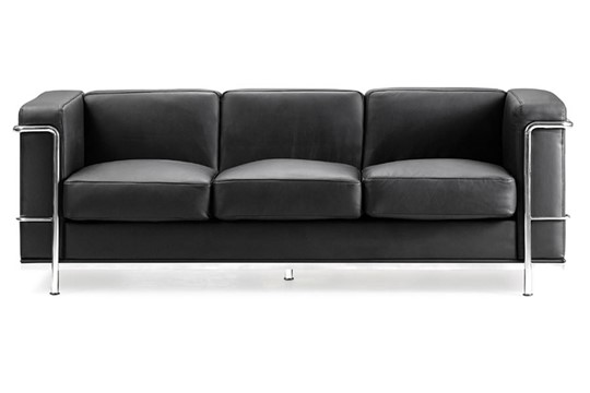 Retro Cube Reception 3 Seat Sofa