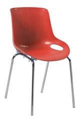 Americano Poly chair - Red