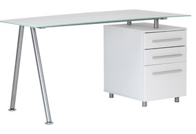 Cleveland Glass Desk