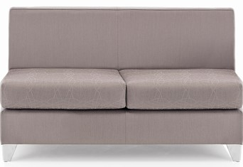 Synergy Slab Two Seater - Grey
