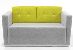 Nero Two Seater - Citrus Green Grey