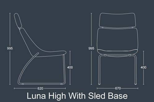 Luna Plus With Headrest