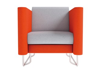 Eden Solo Chair - Orange Grey