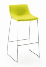 Luna Stool - Citrus Green
