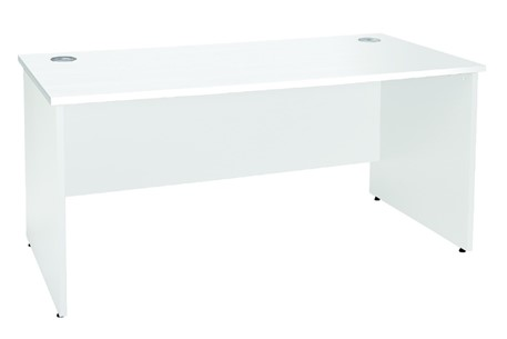 Duo Reflections Rectangular Panel End Desk