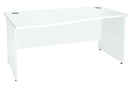 Duo Reflections Panel End Wave Desk