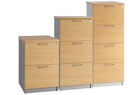 Duo Woodgrain  Filing Drawers