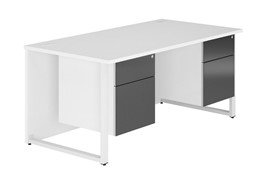 Duo HD Double Pedestal Desk