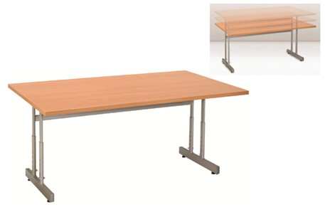 Height Settable Desk