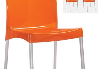 Jaffa Chair - Orange