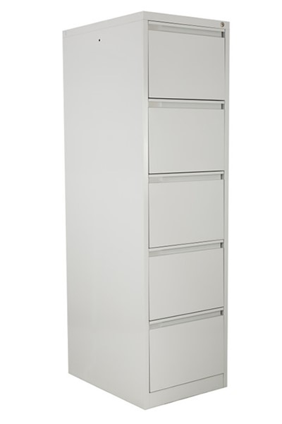 Steel Five Drawer Filing Cabinets