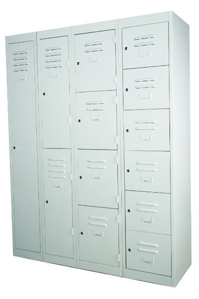Industrial Locker Six Compartments